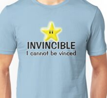 INVINCIBLE I cannot be vinced Unisex T-Shirt