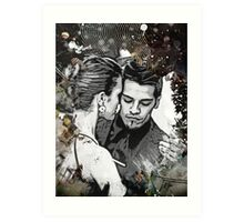Tango in Buenos Aires Art Print