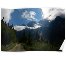 Road to the Cascades Poster