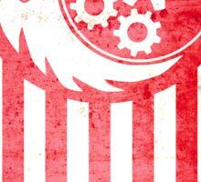 Fallout Brotherhood Of Steel Flag Sticker