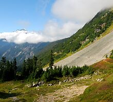 Fall Hike in the Cascades by Octoman