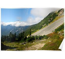 Fall Hike in the Cascades Poster