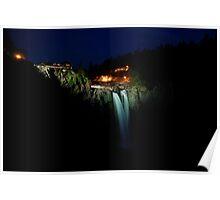 Snoqualmie Falls (aka Twin Peaks falls) Poster