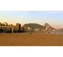 On the beach in Rio Photographic Print