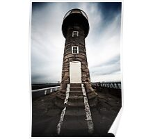 Whitby Lighthouse Poster