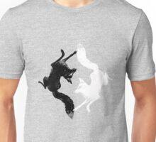 Yin Yang Foxes Unisex T-Shirt