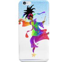 African Sky Dancer iPhone Case/Skin
