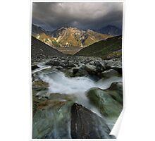 Tasman Valley Vista Poster