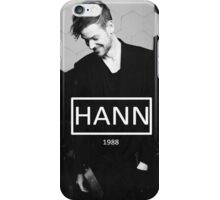 Adam Hann iPhone Case/Skin