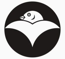 Japanese Wild Goose Mon One Piece - Short Sleeve