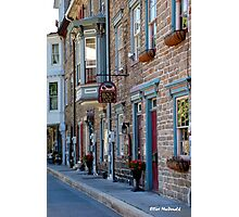 Black Bread Cafe in Jim Thorpe, PA Photographic Print
