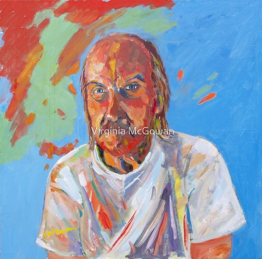 Portrait [Walt Evans ] madvlad ]of a very talented R.B.painter  by Virginia McGowan