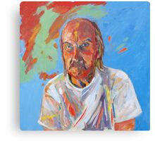 Portrait [Walt Evans ] madvlad ]of a very talented R.B.painter  Canvas Print