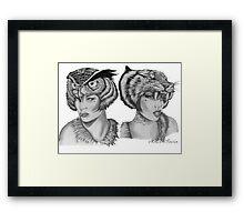 """Lost Girls"" Framed Print"
