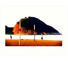 Copa Cabana Beach, Rio Art Print