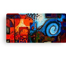 Warm City Cool Sea Canvas Print
