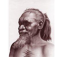 Aboriginal Portrait Photographic Print