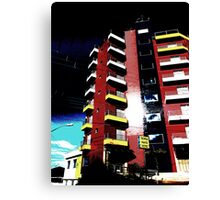 Pop Art Hotel, Brazil Canvas Print