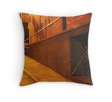 Steps to the Jamestown Square Throw Pillow