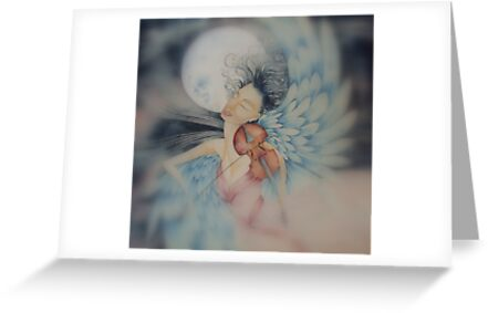 blue angel of peace © 2009 patricia vannucci  by PERUGINA