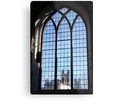 A Window On Christianity Metal Print