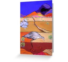 Cry of the Curlew Greeting Card