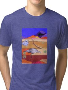 Cry of the Curlew Tri-blend T-Shirt