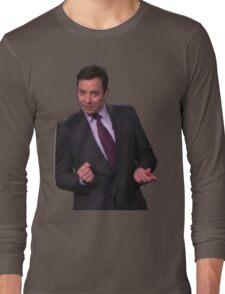 Jimmy Fallon Dancing Long Sleeve T-Shirt