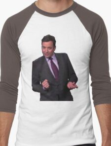 Jimmy Fallon Dancing Men's Baseball ¾ T-Shirt