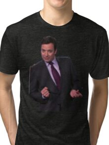 Jimmy Fallon Dancing Tri-blend T-Shirt