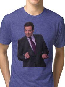 Jimmy Fallon Dancing Tri-blend T-Shirt