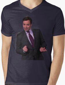 Jimmy Fallon Dancing Mens V-Neck T-Shirt