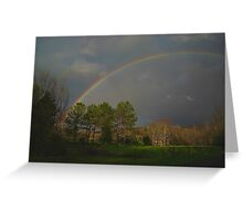 Rainbow of promise Greeting Card