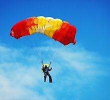 skydiving by BorodinDenis