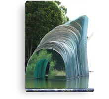 Glass Sculpture Canvas Print