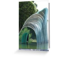 Glass Sculpture Greeting Card