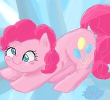 Pinkie Pie - Background by BubbleSkin