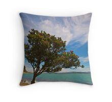 Maori Christmas Tree Throw Pillow