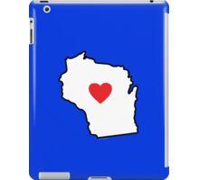 I Love Wisconsin iPad Case/Skin