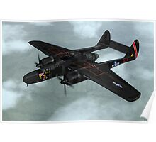 Northrop P-61 Black Widow Poster