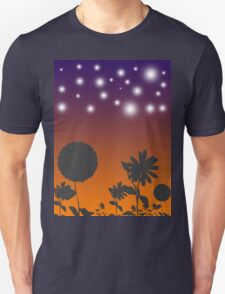Flowers at Sunset T-Shirt