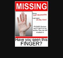 Missing Finger Unisex T-Shirt