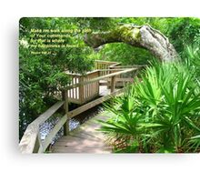 Hidden Sanctuary, Amelia Island  Canvas Print