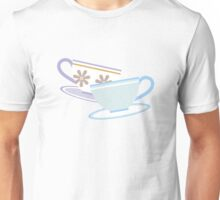 Mad Tea Party Teacups - Purple & Blue Unisex T-Shirt