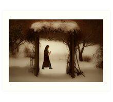 If on a winter's night Art Print