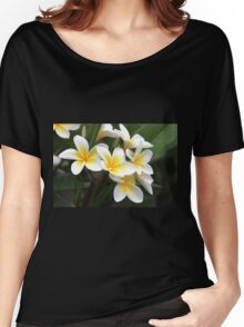 frangipani flower Women's Relaxed Fit T-Shirt