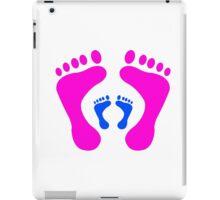 footprints iPad Case/Skin