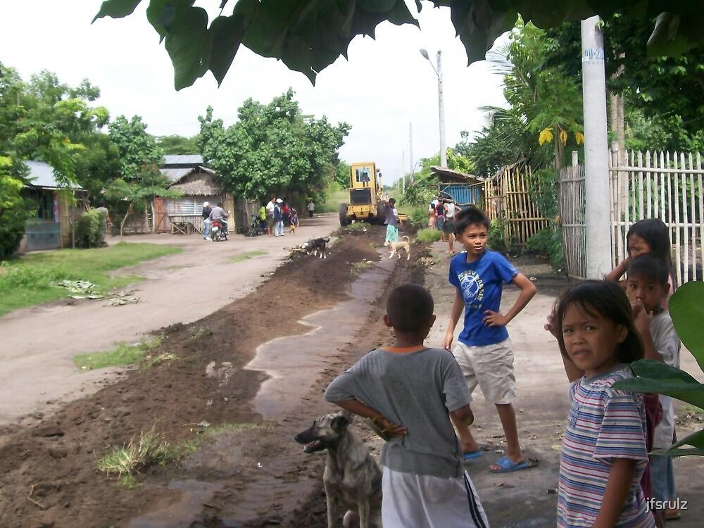 Philippine Road Work by jfsrulz