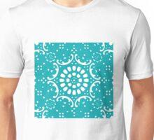 Turquoise background Unisex T-Shirt
