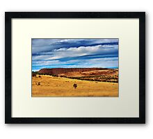 Kanmantoo - Copper Mine Framed Print